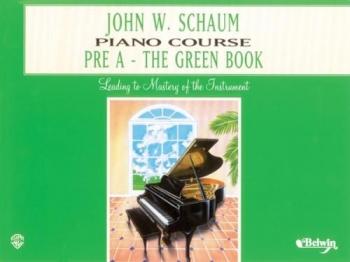 Schaum Piano Course: Pre A: Green