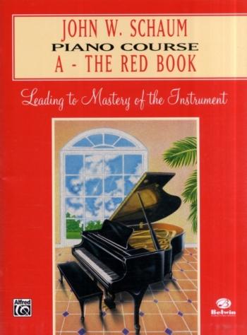 Schaum Piano Course: A: Red