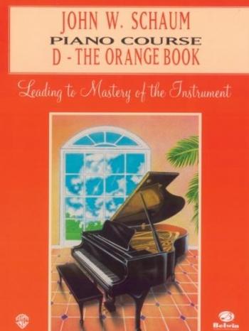 Schaum Piano Course: D: Orange