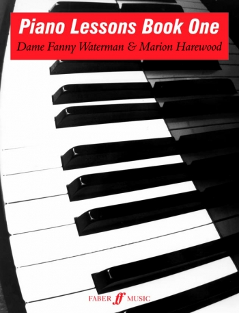 Piano Lessons Book 1: Piano: Tutor  (waterman) (Faber)