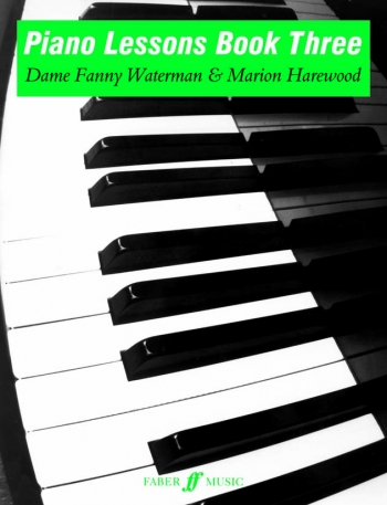 Piano Lessons Book 3: Piano: Tutor  (waterman) (Faber)