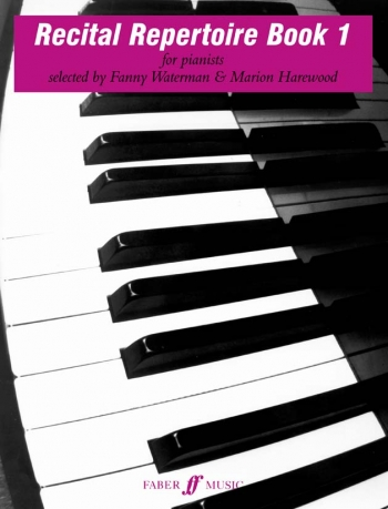Recital Repertoire Book 1: Piano: Tutor  (waterman)