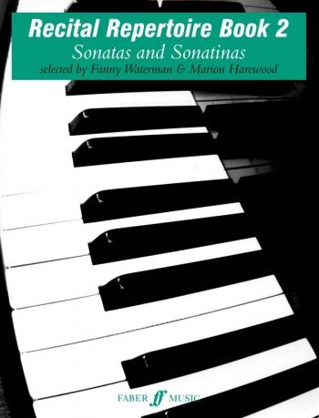 Recital Repertoire Book 2: Piano: Tutor  (waterman)