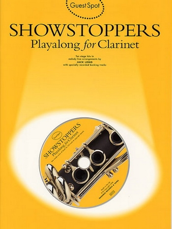 Guest Spot: Showstoppers: Clarinet: Book & CD