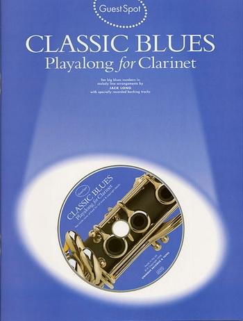 Guest Spot: Classic Blues: Clarinet: Book & CD