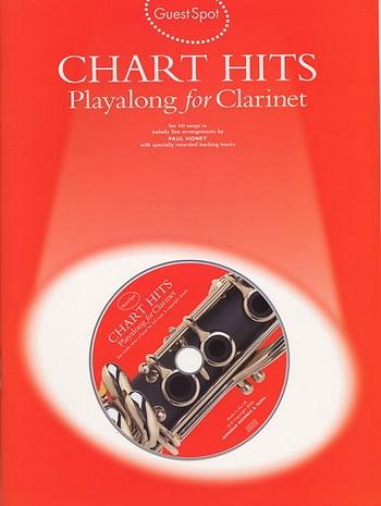 Guest Spot: Chart Hits: Clarinet: Book & CD