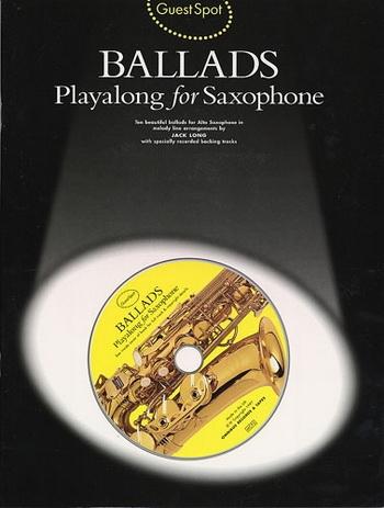 Guest Spot: Ballads: Alto Sax: Book & CD