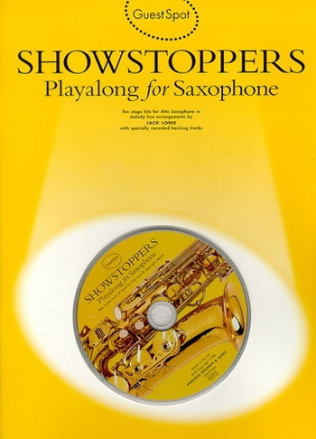 Guest Spot: Showstoppers: Alto Sax: Book & CD
