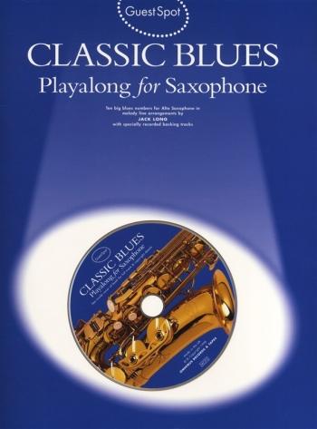 Guest Spot: Classic Blues: Alto Sax: Book & Cd
