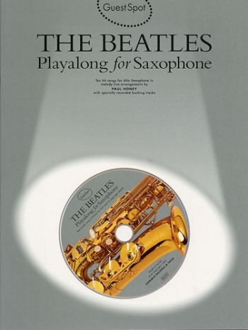 Guest Spot: Beatles: Alto Sax: Book & CD