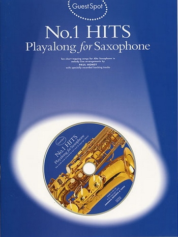 Guest Spot: No 1 Hits: Alto Sax: Book & CD
