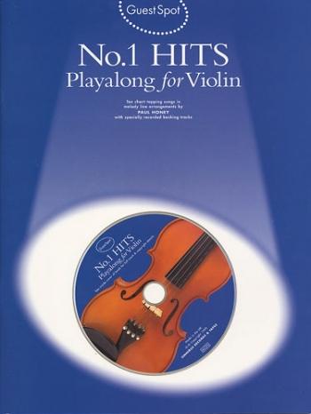 Guest Spot: No 1 Hits: Violin: Book & CD
