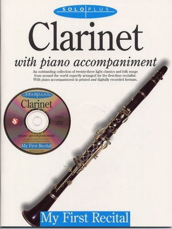 Solo Plus: My First Recital: Clarinet: Book & CD