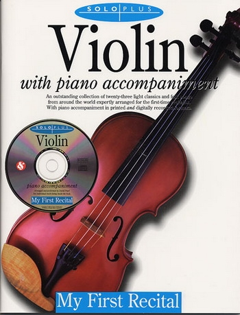 Solo Plus: My First Recital: Violin Book & CD