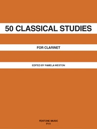 50 Classical Studies: Clarinet Solo (Pamela Weston)