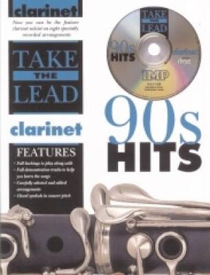 Take The Lead: 90s Hits: Clarinet: Book & CD