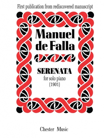 Serenata (1901): Piano  (Chester Ed)