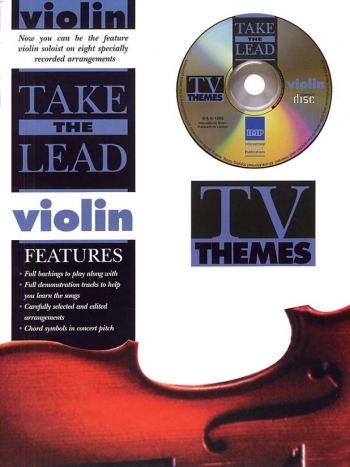 Take The Lead: Tv Themes: Violin: Book & CD