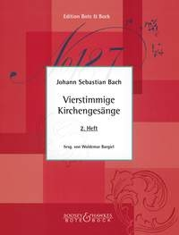Bach: Chorales: Book 2: 28-58: Vocal: Satb (Woldemar)