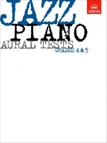 ABRSM Jazz Piano Aural Tests: Grade 4-5