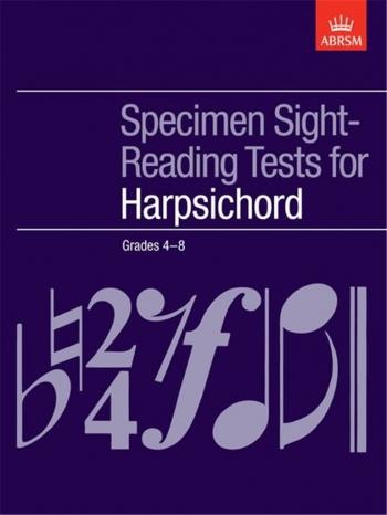 ABRSM: Specimen Sight-reading Tests: Harpsichord Grade4-8