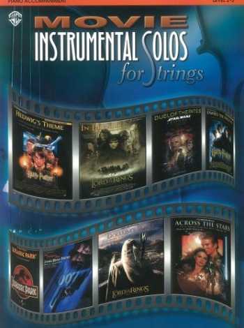 Movie Instrumental Solos: Piano Accompaniment for Strings