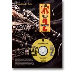 Music Minus One: Easy Jazz Duets For 2 Clarinets