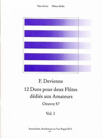 12 Duets: Vol.1: OP57: 2 Flutes