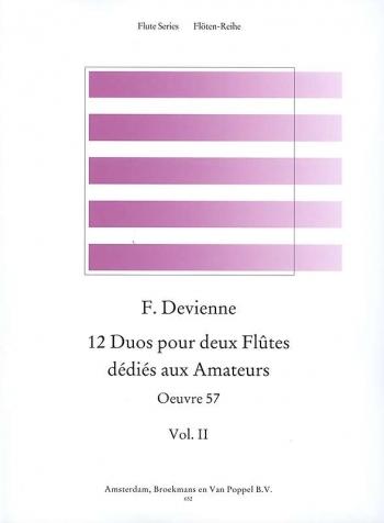 12 Duets: Vo.l2: OP57: 2 Flutes