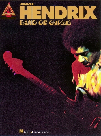 Jimi Hendrix : Band Of Gypsys Guitar Recorded Versions: Guitar