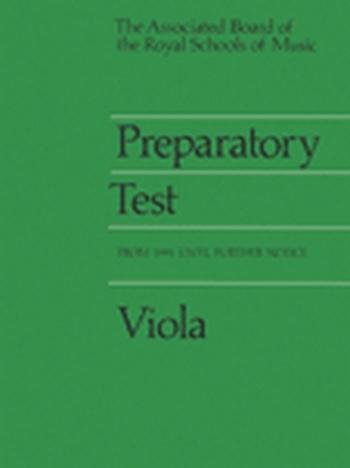 ABRSM Prep Test For Viola