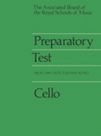 ABRSM Prep Test For Violoncello