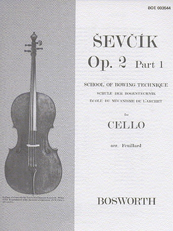 School Of Bowing Technique OP2 Part 1: Cello Solo (Bosworth)