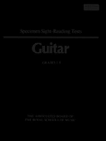 OLD/ABRSM Specimen Sight-reading Tests Guitar: Grade 1-8