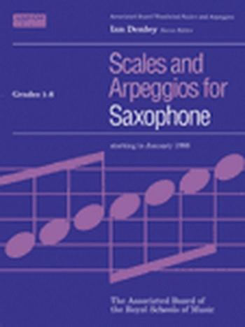 ABRSM Scales Grade 1-8 Alto Or Tenor Saxophone