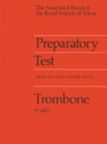 ABRSM Prep Test For Trombone