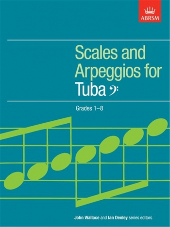 ABRSM Scales For Tuba Bass Clef: Grade 1-8