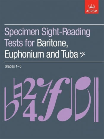 ABRSM Specimen Sight: Baritone, Euphonium And Tuba: Grade 1-5