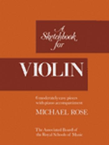 Sketchbook For Violin