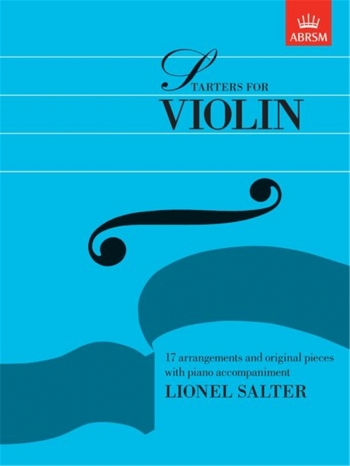 Starters For Violin: Violin & Piano (ABRSM)