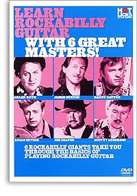 Learn Rockabilty Guitar With 6 Great Masters: Hot Licks: Guitar DVD