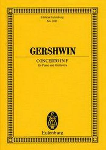Concerto In F: Miniature Score