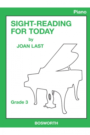 Sight Reading For Today: Book 3: Piano (Joan Last)