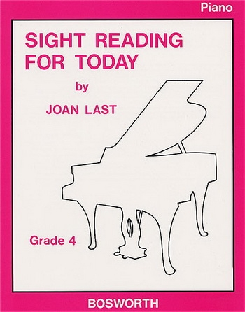 Sight Reading For Today: Book 4: Piano (Joan Last)