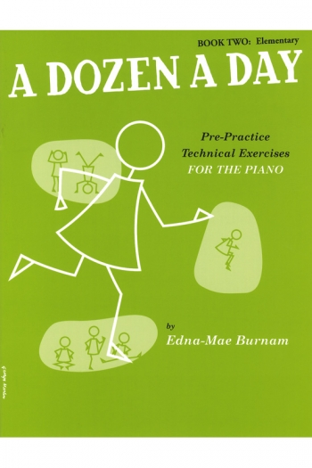 A Dozen A Day Book 2 Elementary: Piano Studies