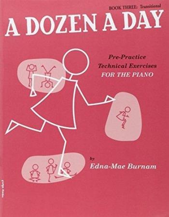 A Dozen A Day Book 3 Transitional: Piano Studies