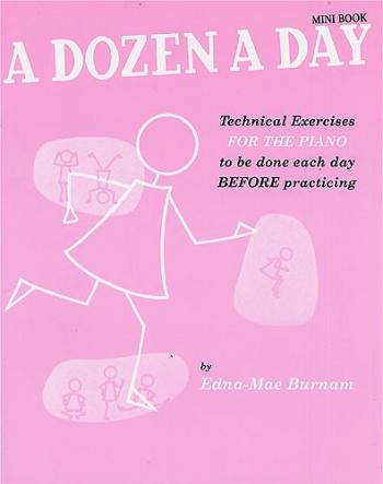 A Dozen A Day Mini Book: Piano Studies