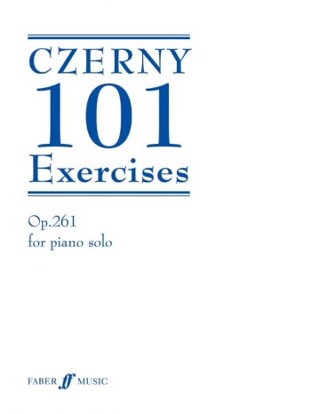 101 Exercises: Op 261 Piano