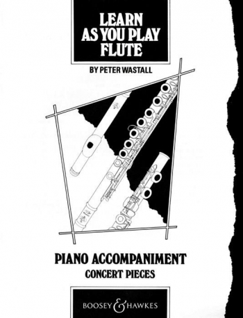 Learn As You Play Flute: Piano Accompaniment
