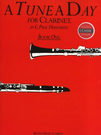 Tune A Day Clarinet Book One (Herfurth)